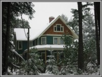 The Hale Eddy Bed & Breakfast Suites, Salt Spring Island  - Snow in January
