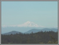 The Hale Eddy Bed & Breakfast Suites, Salt Spring Island  - Mt. Baker from Mountain Suite deck